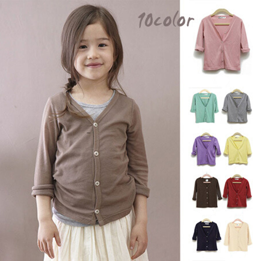 Herfst Baby Girl Boy Cardigan Candy-kleurige trui Jack Goede kwaliteit Single-Breasted trui Cardigans Toddler Girls Outfit