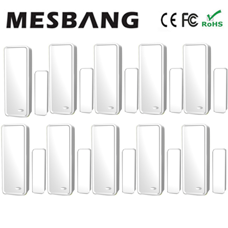 Hot Mesbang Wireless Door Sensors Door Detector 433 MHZ Free Shipping