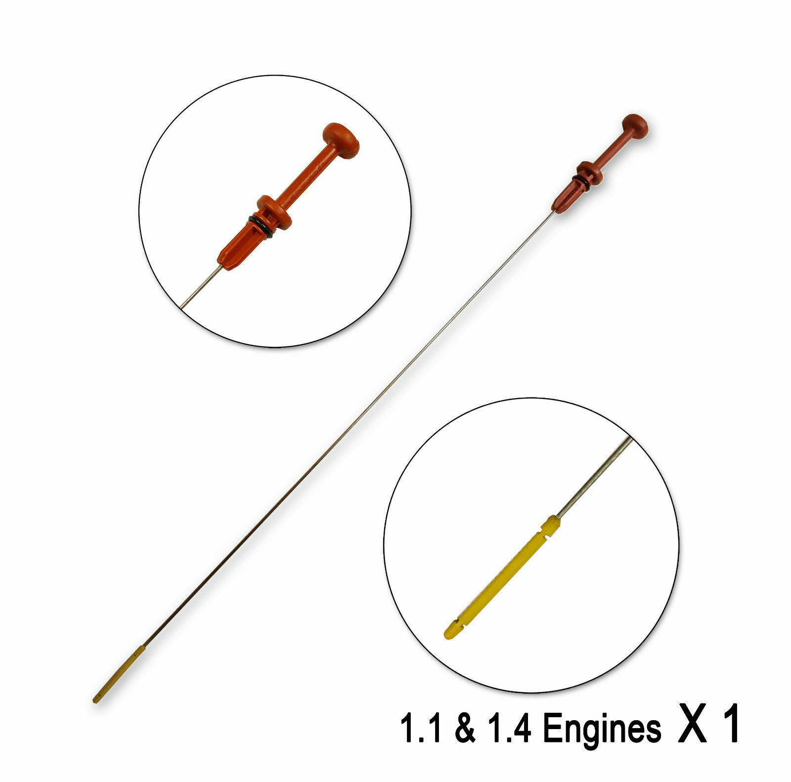 For Peugeot 206 Partner Van 306 307 106 Citroen Saxo C3 Oil Dipstick 117475