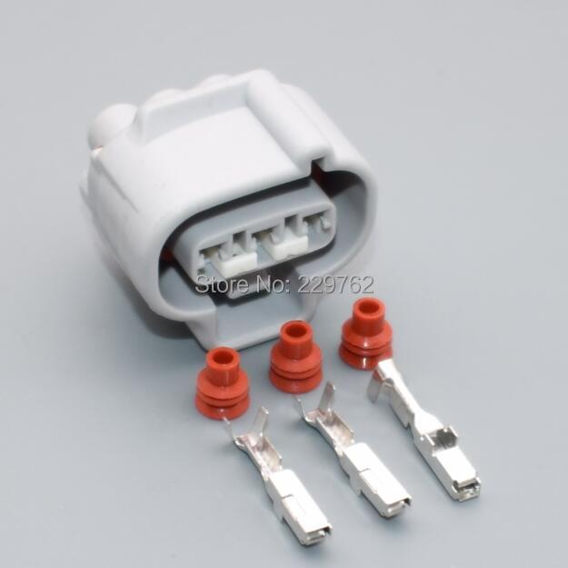 shhworldsea 3 Pin female housing Waterproof Automobile Connector  Sensor plug 90980-11145 For TOYOTA Carola Corolla Alto 11143