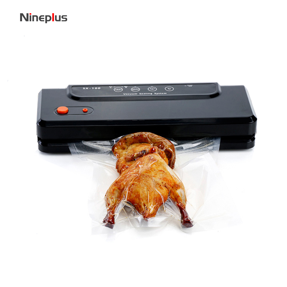 110V-220V Vacuum Sealer 150W Automatic Food Packing Machine with Starter Kit bags Best for Household Food Saver Dry & Moist110V-220V Vacuum Sealer 150W Automatic Food Packing Machine with Starter Kit bags Best for Household Food Saver Dry & Moist