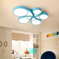LED Creative Ceiling Lighting Novelty Bedroom Ceiling Lights Simple Modern Children S Room Fixtures Study Ceiling