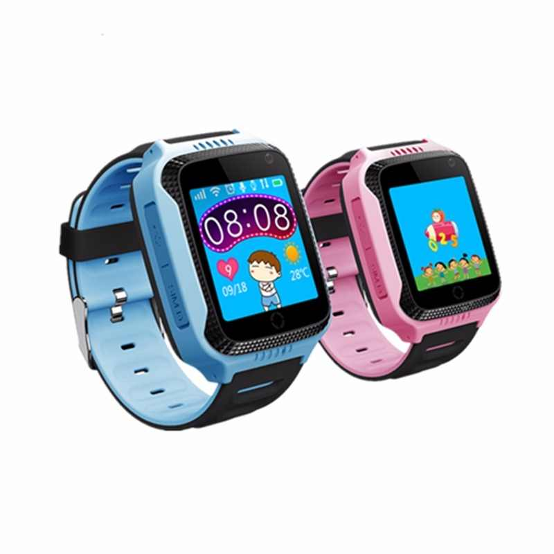 kids GPS tracker watch Q528 Y21 Flashlight child Camera touch Screen SOS Call Location Baby Watches Smart wristwatches Q529