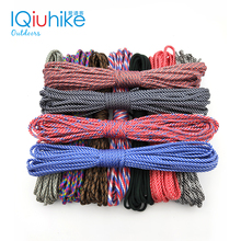 208 Colors Paracord 550 Paracord Parachute Cord Lanyard Rope Mil Spec Type III 7Strand 31 Meters Climbing Camping Survival Tools