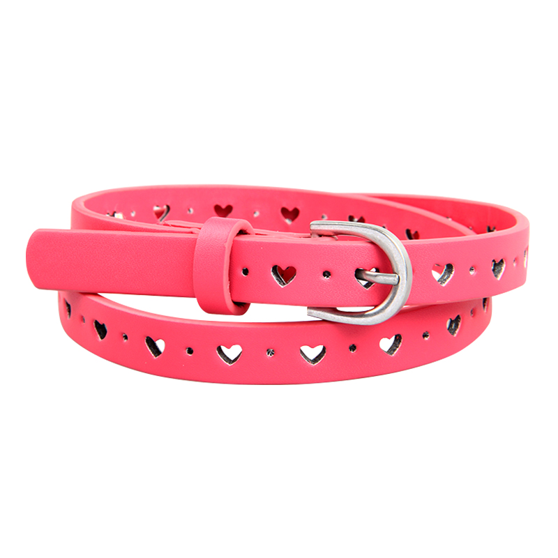 New Fashion Kids Belt Girls Belt Child Waistband Four Colors Choose Leisure Waist Strap Children PU Leather Belts