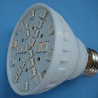 Indoor 3W 25 5050 SMD LED Plant Growing Lamp RED and Blue LED Flowering Hydroponic Hydro Light Grow Lamp Bulb