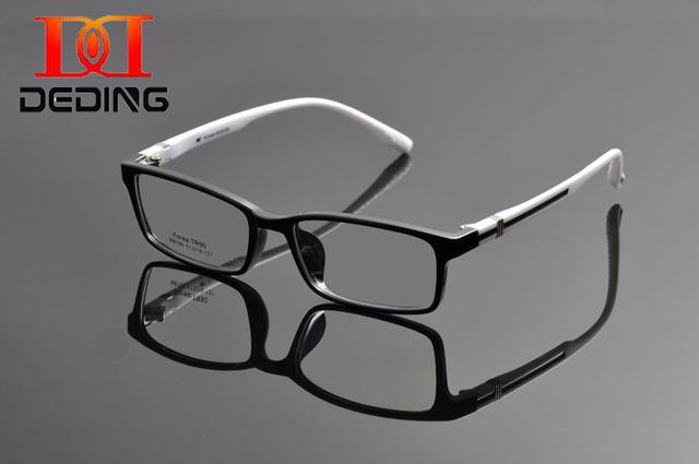 Deding косплей дизайн человека женщин TR90 прямоугольный линзы близорукость рецепт оптический зрелище кадров óculos де грау DD1146