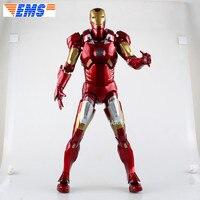 18 Мстители Бесконечная война супергероя Железный человек Тони Старк красный MK7 ПВХ фигурку Коллекционная модель Toy BOX 45 см Z298