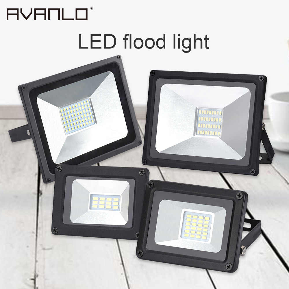 Hot selling IP65 10W 20W 30W 50W Led Flood Light SMD 5730 Led Flood Lamp Reflector Led Floodlight Outdoor Street Lighting