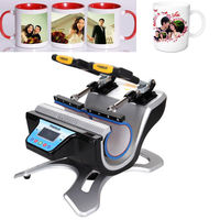 (Shipping From Germany )280W double cup heat press cup heat press thermal pressure thermal printer
