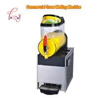 XRJ10Lx1 Single cylinder Commercial Snow Melting Machine 110V/220v Slush Ice Slusher Cold Drink Dispenser Smoothie Machine 1pc|Ice Cream Makers|Home Appliances -
