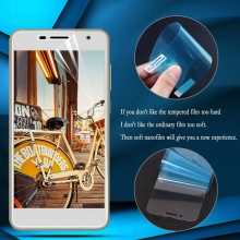 купить Nano Explosion-proof Film For ZTE Nubia Z18 Z17 Z17S Z11 Mini Screen Protector For ZTE Z11 Mini Guard (Not tempered glass) по цене 48.2 рублей