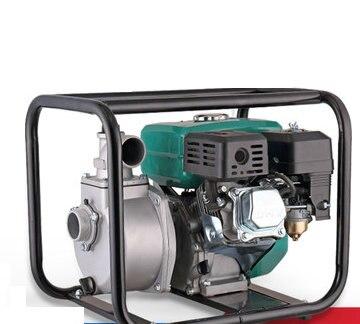 2/3/4 pouce 4 temps standard tête auto-amorçante municipaux/d'irrigation de champ/d'urgence pompe de drainage pompe à eau moteur à essence