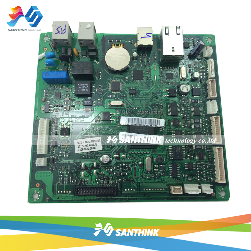 Main Board For Samsung SCX-4623FN SCX-4623 SCX4623 SCX 4623 4623FN SCX4623FN Formatter Board Mainboard On Sale тонер картридж samsung mlt k606s see для scx 8040nd черный 35000стр