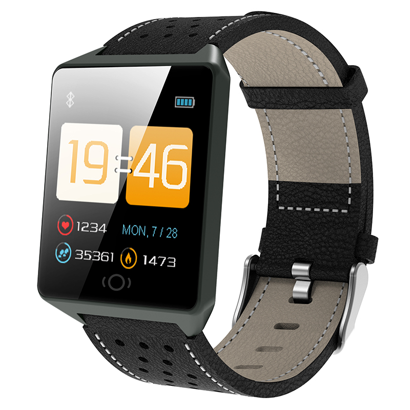 CK19 Smartwatch IP67 Waterproof Wearable Device Bluetooth Pedometer Heart Rate Monitor Color Display Smart Watch For