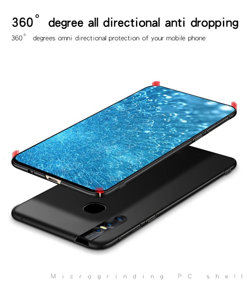 Image 4 - ViVO V15 Case Silm Shockproof Protective Cover Luxury Ultra Thin Smooth Hard PC Phone Case For ViVO V15 Back Cover For ViVO V15-in Fitted Cases from Cellphones & Telecommunications
