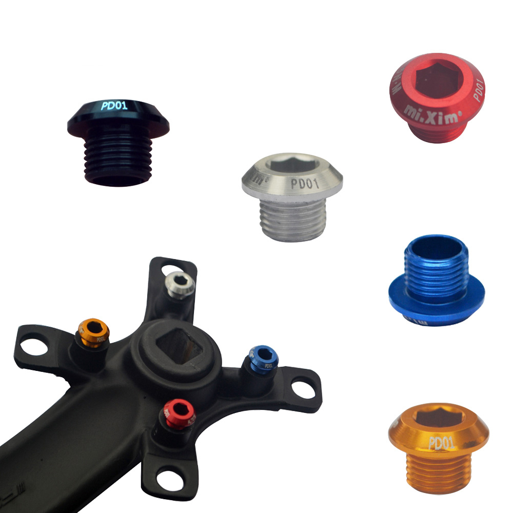 Bike disc brake rotor spacer 2mm 6-Bolt fixed track shim plastic 3 PCS