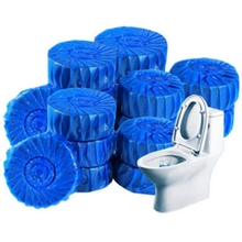 2019 2Pcs/pack Magic Flush Toilet Cleaner Helper Fragrant Ball Blue Disposable Bubble Cleaning Deodorizes Clean