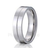 Анель masculino показать ЛЮБОВЬ бойфренд подарок простые блестящие Дешевые Pure Titanium обручальные кольца для мужчин