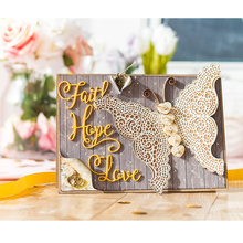 Good Word Faith Metal Cutting Dies Stencils Photo DIY Scrapbooking Album Paper Cards Craft Decor Embossing 2018
