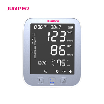 Home health care Blood Pressure Monitor Pulse measurement tool Portable Large LCD digital Upper Arm Tonometer Cuff Max 42cm 2