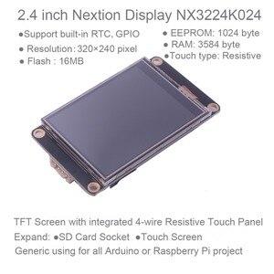 Image 2 - Nextion المحسن 2.4 بوصة USART HMI شاشة إل سي دي تعمل باللمس شاشة 320*240 NX3224K024 لاردوينو التوت بي مع حافظة أكريليك