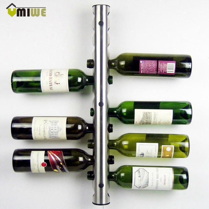 Creative Wine Rack Holders 8 12 Holes Home Bar Wall Grape Wine Bottle Holder Display Stand