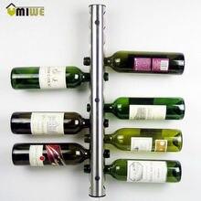 Kreative Weinregal Halter 8-12 Löcher Home Bar wand Trauben Weinflaschenhalter Ausstellungsstandzahnstange Suspension Lagerung Organizer