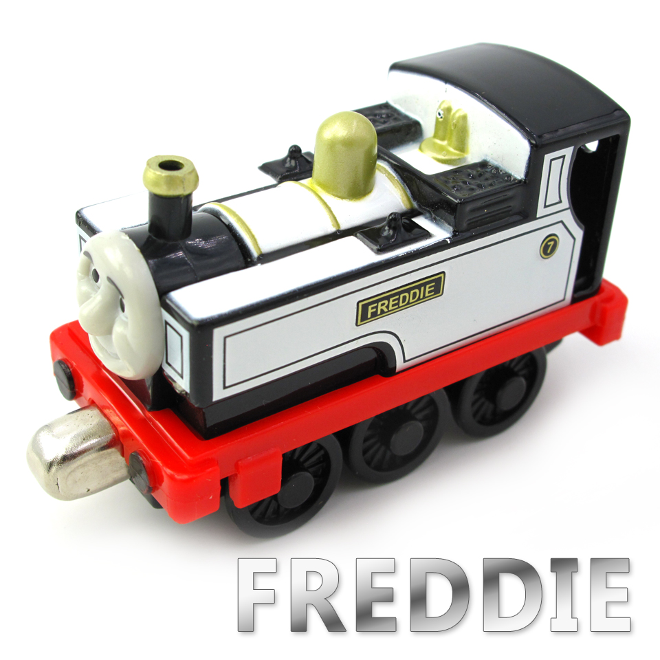 Diecasts Vehicles Thomas T052D FEARLESS FREDDIE Thomas And Friends Magnetic Tomas Truck Car Engine Railway Train Toys for Boys