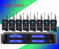 Pro microphone UHF 8 microphone wireless Lavalier microphone Stage Performance microfoon draadloos wireless microphone System