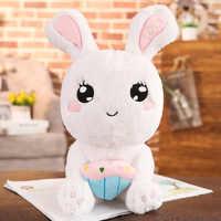 new arrival peluches soft toy cute bunny stuffed animal rabbit plush toy for baby kids