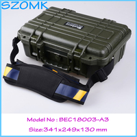 Impact Resistant Sealed Waterproof Safety Case Canvas Tool Bag Multifunction Ip68 Plastic Tool Box341 249 130mm