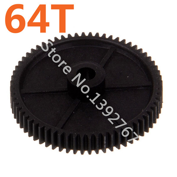 11164 Diff Main Gear 64T HSP Parts For 1 10th RC Car Electric Model Off Road