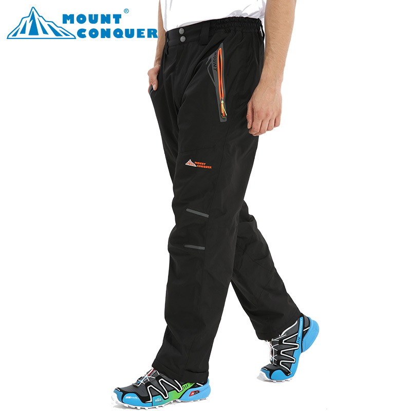 Trousers Softshell Pants Men Breathable Thermal Waterproof Pants lovers Outdoor Sport Camping Hiking Pants Fleece Outdoor Pants rax 2015 thermal fleece hiking pants for men women winter outdoor sports warm fleece trousers fleece camping pants 54 4f089