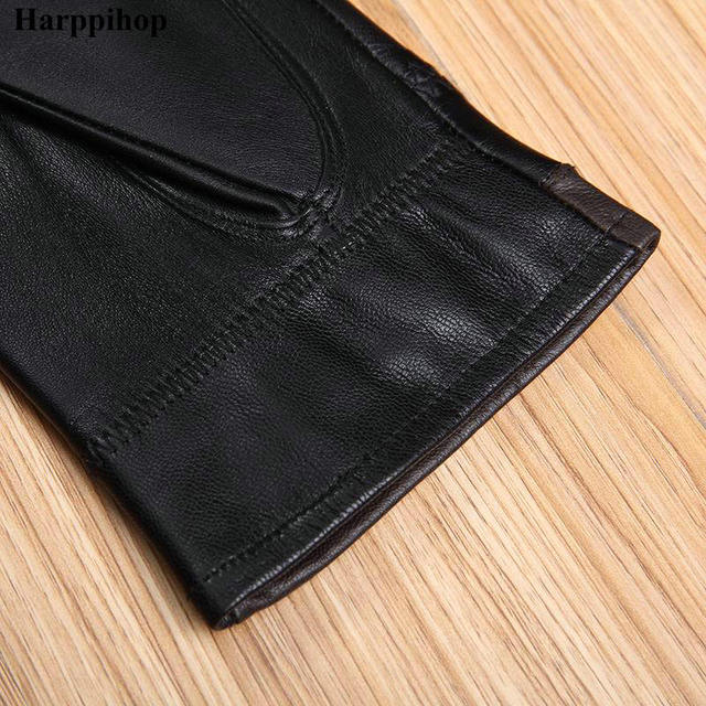Genuine Leather Gloves for Men
