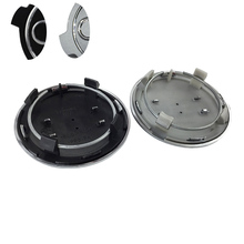 ФОТО 20pcs 69mm grey black wheel center caps cover badge hub caps emblem for a4 a6 rs6,p/n:4b0601170a