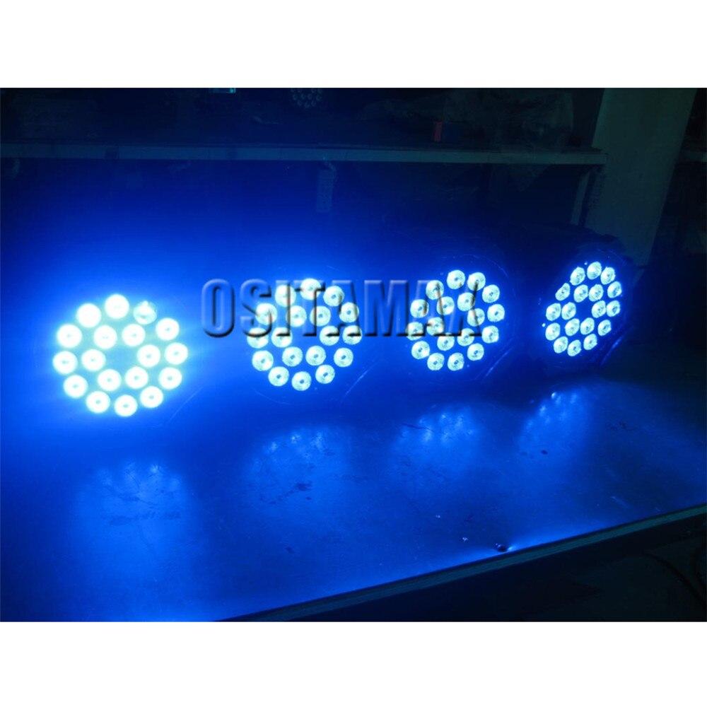 4 pçs/lote 18x15w rgbwa interior IP33 latas par led dmx par can iluminação 18x15w led dmx par 64 18x15w latas par dj levou luz de discoteca par - 5