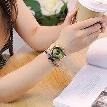 New Fashion Camera Lens Watch Casual Leather Women Wristwatches Quartz Watch Relogio Feminino Gift Drop Shipping