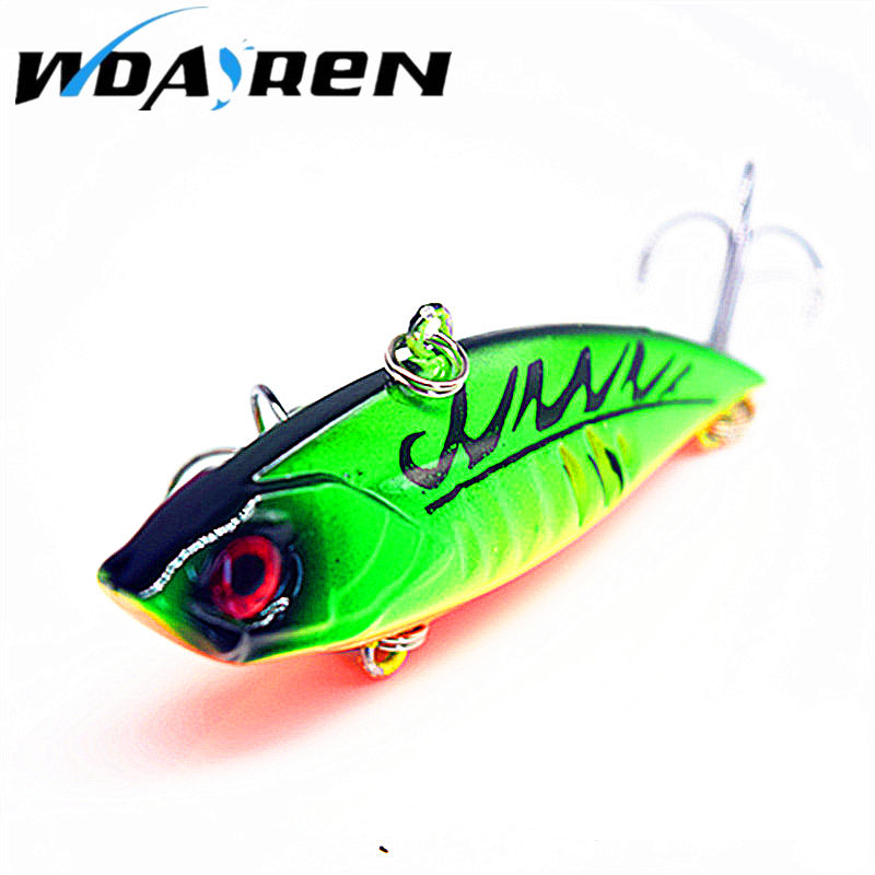 1PCS 11G Hard VIB Lures 6.5CM Fishing Bait Treble Hooks Sinking Crankbait Fishing Tackle FA-218 sealurer 5pcs fishing sinking vib lure 11g 7cm vibration vibe rattle hooks baits crankbaits 5 colors free shipping