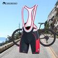 Santic мужские велосипедные шорты с нагрудником 4D Coolmax с подкладкой для велосипеда, велосипедная одежда ciclismo bicicleta M-3XL K7MC028