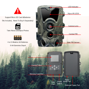 Image 3 - HC801A HC801M狩猟トレイルカメラ赤外線2グラムmmsメール写真トラップsmsナイトビジョン野生生物gsmカメラデシャッセinfrarouge