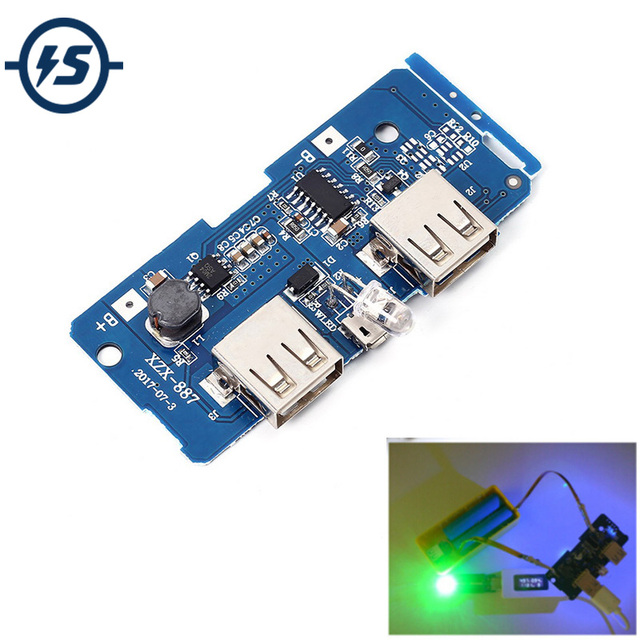 5V 2A Power Bank Charger Module Charging Circuit Board