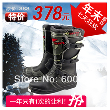 2014 New Pro-biker motorcycle race automobile high design long boots automobile race protective shoes off-road motorcycle boots