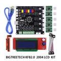 BIQU KFB2.0 плата управления материнская плата Reprap контроллер основная плата + 2004LCD плата для 3D принтера Heatbed