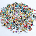 (100pcs/lot) newest hot mix color Sale 12 mm Snaps Jewelry Button For DIY Bracelet Necklace Charms Snaps Charms