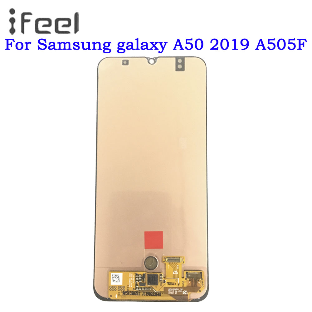 Super AMOLED For Samsung galaxy A50 2019 A505F/DS A505F A505FD A505A LCD Display Touch Screen Digitizer For Samsung A50 lcdSuper AMOLED For Samsung galaxy A50 2019 A505F/DS A505F A505FD A505A LCD Display Touch Screen Digitizer For Samsung A50 lcd