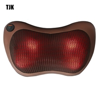 TJK TT602B Massager Pillow Electric Infrared Heating Kneading Neck Shoulder Back Body Massage Pillow Car Home