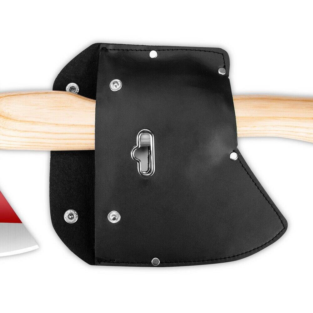 Warnen Pu Leder Für Edc Werkzeuge Klinge Schutz Weiche Hatchet Überleben Boning Messer Axt Mantel Wandern Multifuntional Outdoor Camping Bequem Zu Kochen Handwerkzeuge Axt