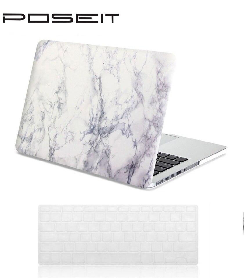 Novo padrão de mármore branco da tampa do caso para apple macbook pro retina 13.3 polegada A1502/Casos Para Mac book manga laptop A1425