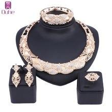 Женский комплект украшений с кристаллами ouhe серьги браслет